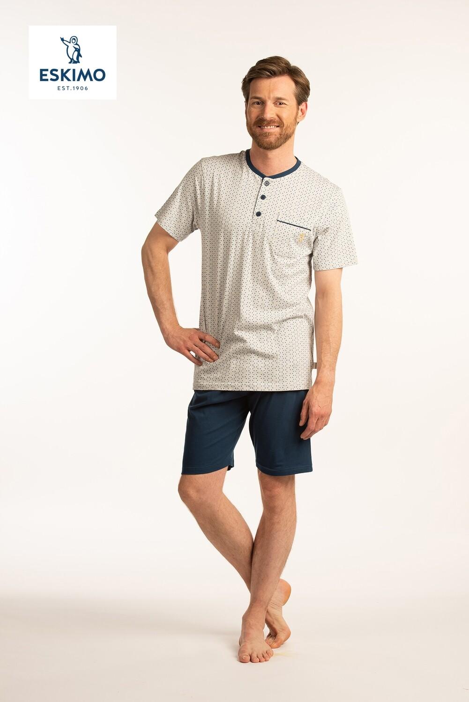 Eskimo Heren pyjama tot 4XL: Emir 100% Katoen