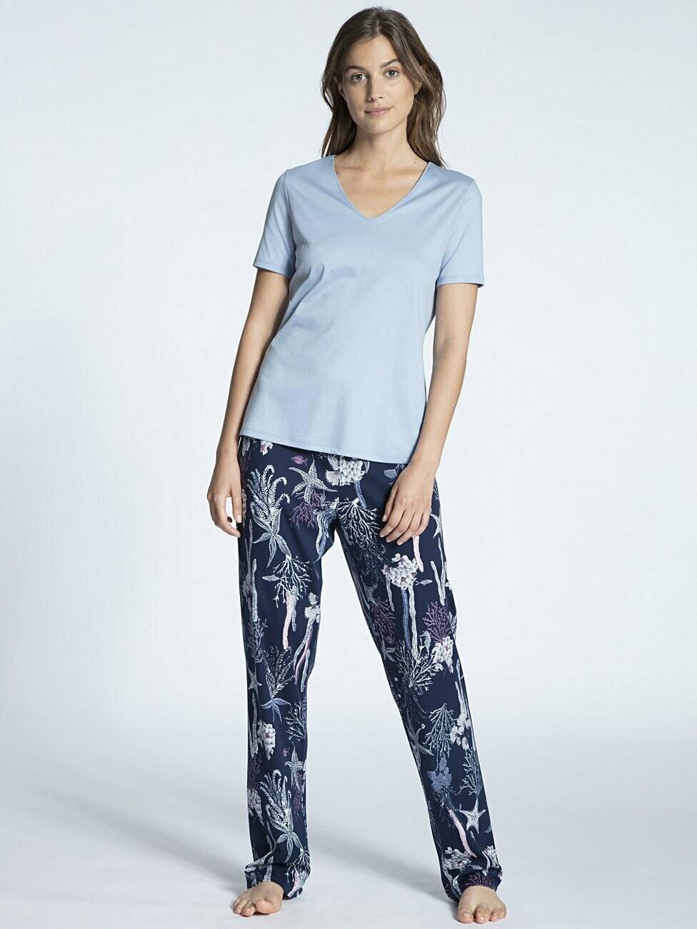 Calida Dames Pyjama Korte mouw / lange broek