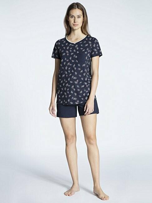 Calida Dames Pyjama korte mouw met short