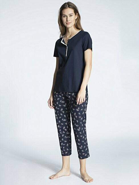 Calida Dames Pyjama 100% Katoen