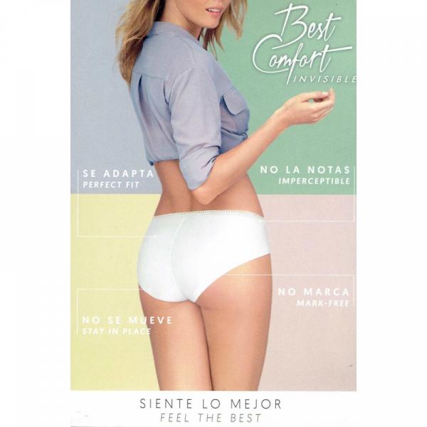 Janira Slip Best Comfort ( Maxi ) Zwart / Wit / Huidskleur