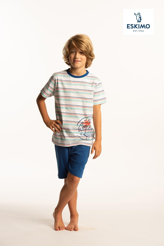 Eskimo Jongens pyjama 10-16jaar: Chill