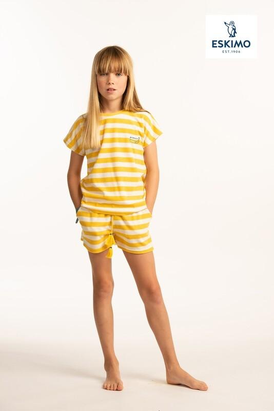 Eskimo Meisjes Pyjama: Go Bananas 10-16jaar