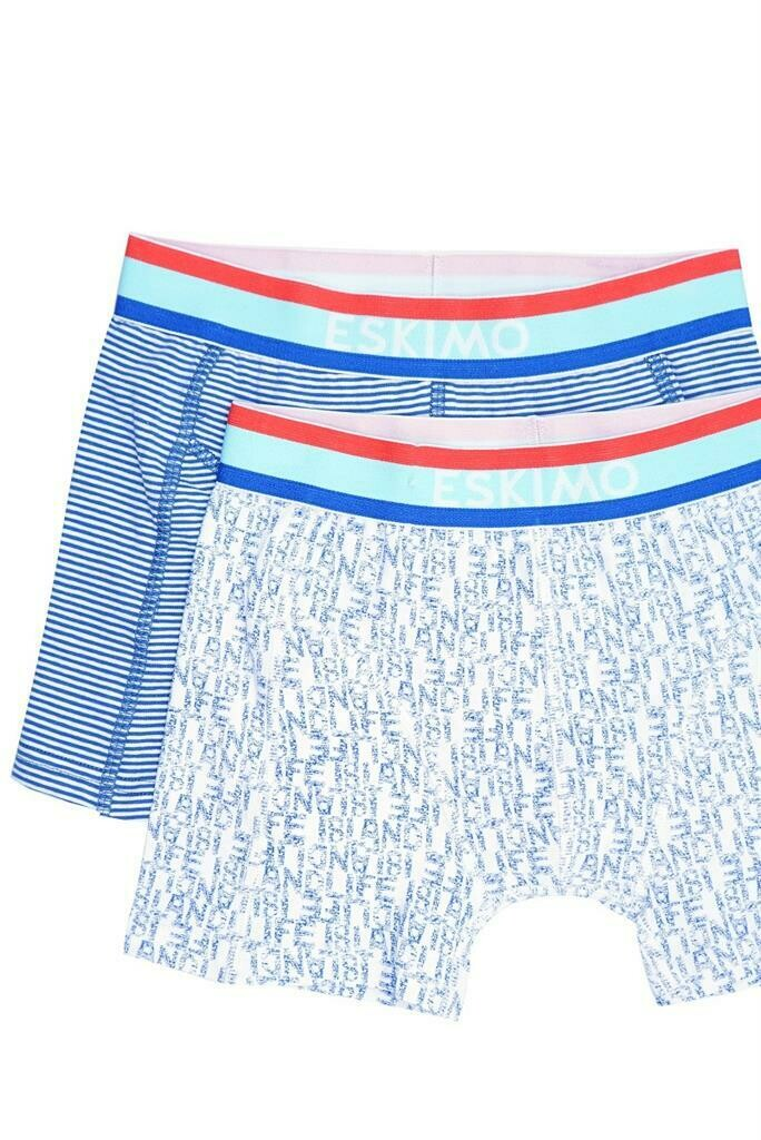 Eskimo Jongens boxershort: Esqueeze Blue island