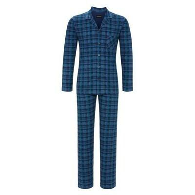 Ringella Heren Doorknoop Pyjama 100% Katoen