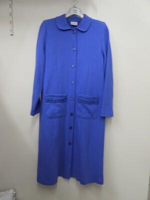 Egatex  Dames ZomerKamerjas met knopen Blauw