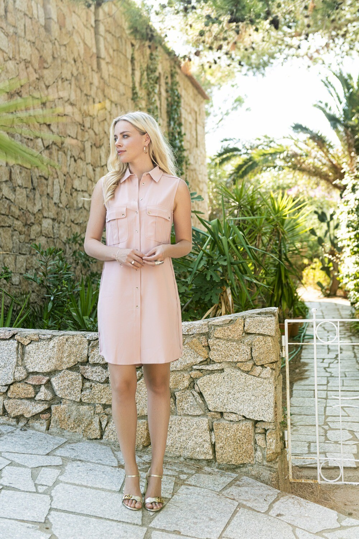Esqaulo Hemdskleed mouwloos blush pink
