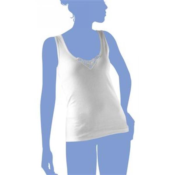 Eskimo Dames onderhemd Wit: Shana 100% Katoen