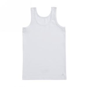 Ten Cate Onderhemd jongens: Basic Kids boys shirt, Singlet Wit