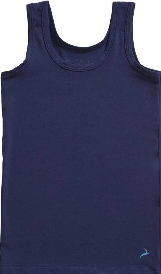 Ten Cate Onderhemd jongens: Basic Kids boys shirt, Singlet Blauw