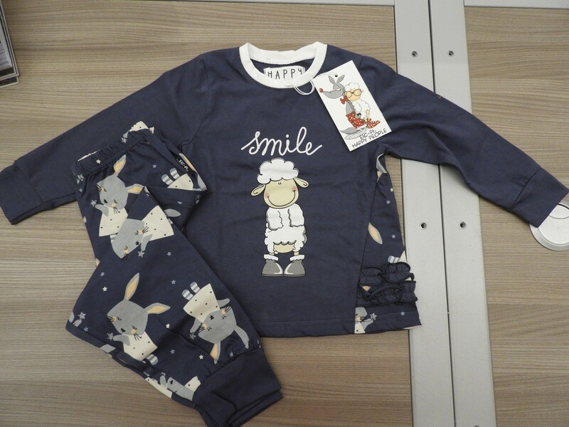 Happy People Meisjes pyjama: Smile