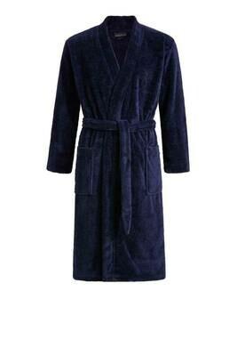 Ringella Heren Badjas: Donker Blauw ideaal voor sauna / douche ( Aqua )