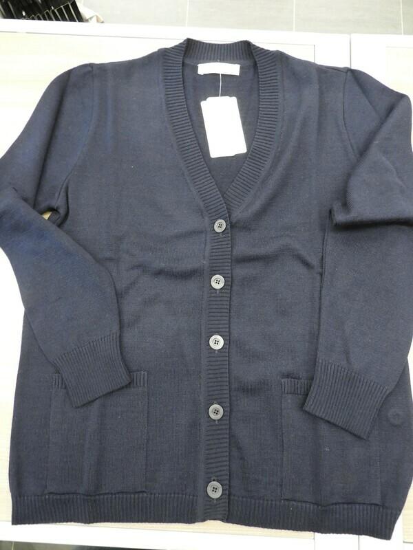 Kris Fashion Blauwe Cardigan