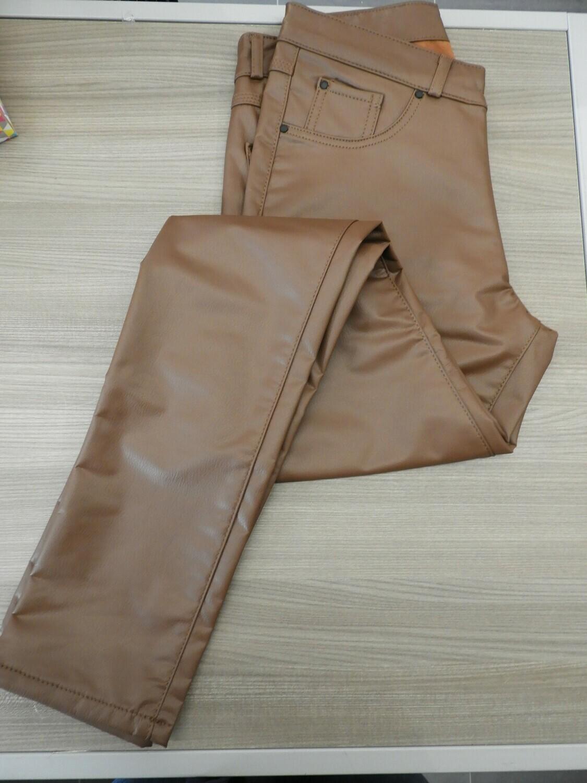 Para Mi Faux Leather: Ivy Camel