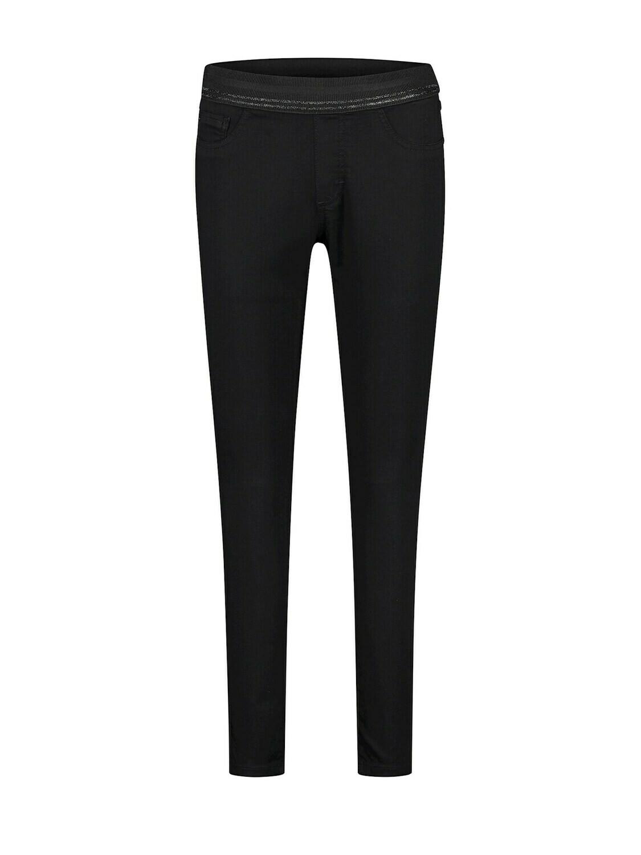 Para Mi Broek met elastiek: Ruby Zwart L29