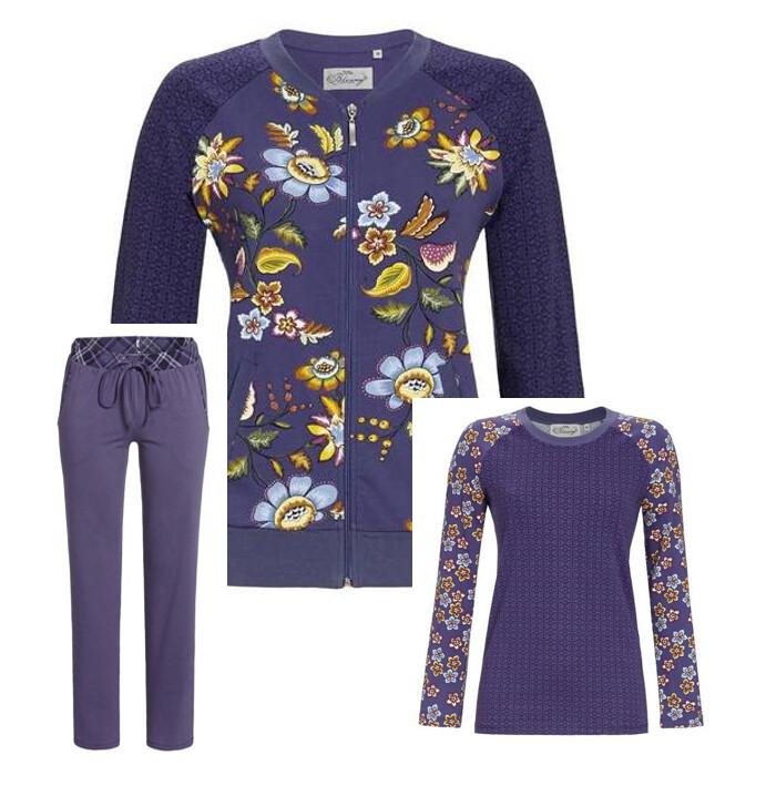 Ringella Dames HomeWear / Pyjama: bloomy ( Vest / Shirt / broek )