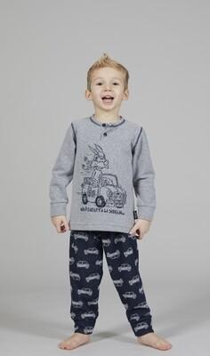 Happy People Jongens pyjama: Sera Bimbo Macchine