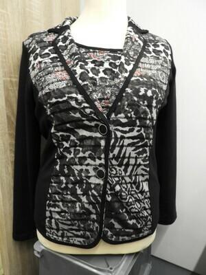 Femme Twinset: Blazer met Shirt