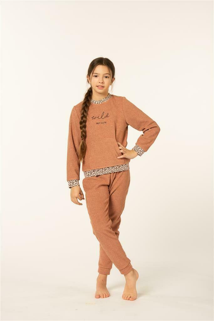 Eskimo Meisjes Pyjama: RANI ( 10 - 16jaar ) Badstof, gemoltoneerd