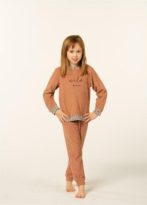 Eskimo Meisjes Pyjama: Rani ( badstof / gemoltoneerd )
