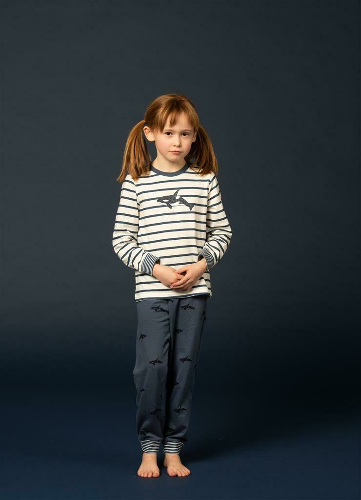 Eskimo Kolor Collectie: Unisex kinder pyjama