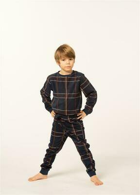 Eskimo Jongens Pyjama: Sonny Fleece ( 2 - 8 )