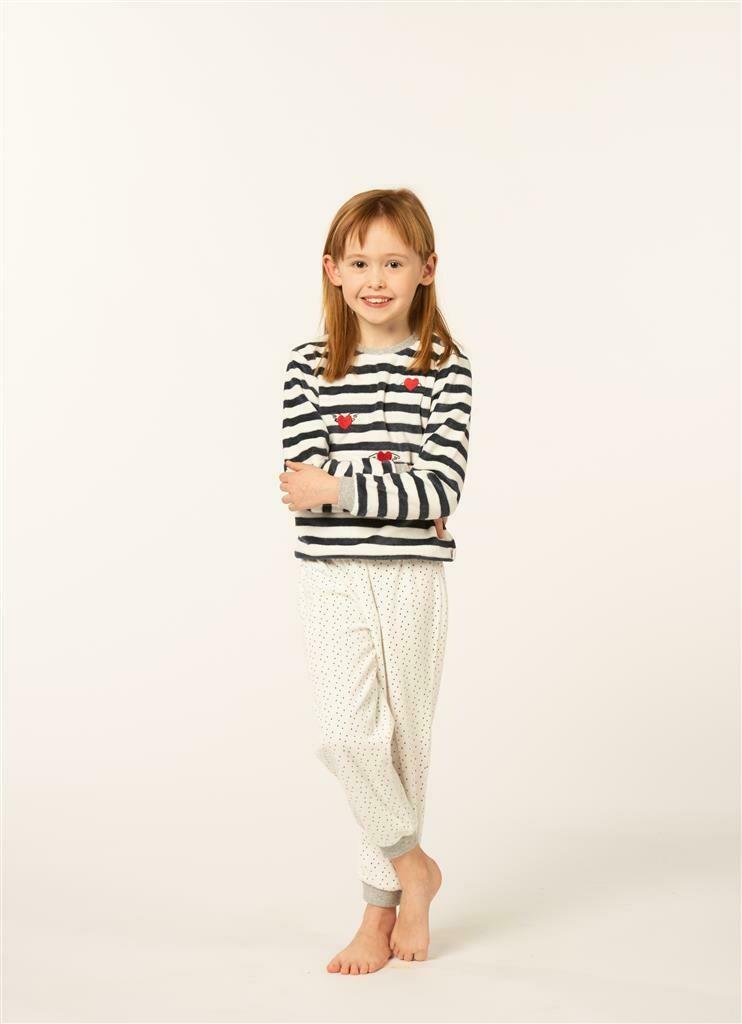 Eskimo meisjes pyjama: Goody ( velours ) 2 - 8jaar