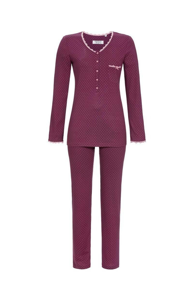 Ringella dames pyjama: tencel ( 50% Katoen 50% Modal )