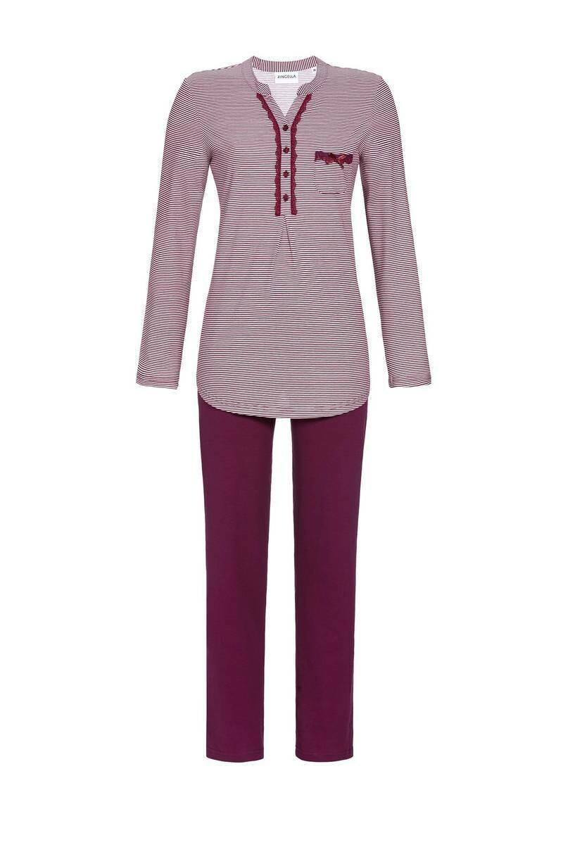 Ringella Dames pyjama: 100 % Katoen