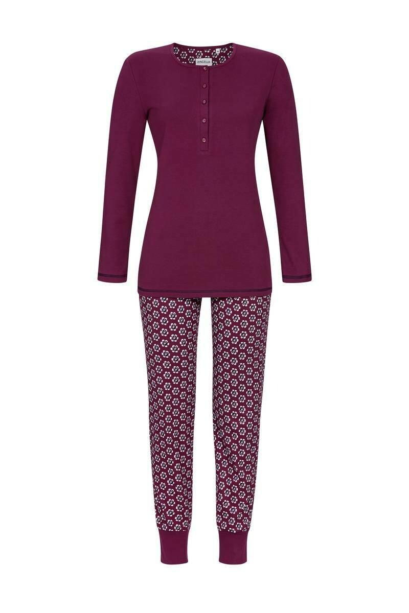 Ringella Dames Pyjama: 100% Katoen