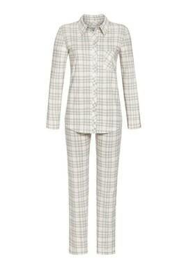 Ringella Dames doorknoop pyjama: 100% Katoen