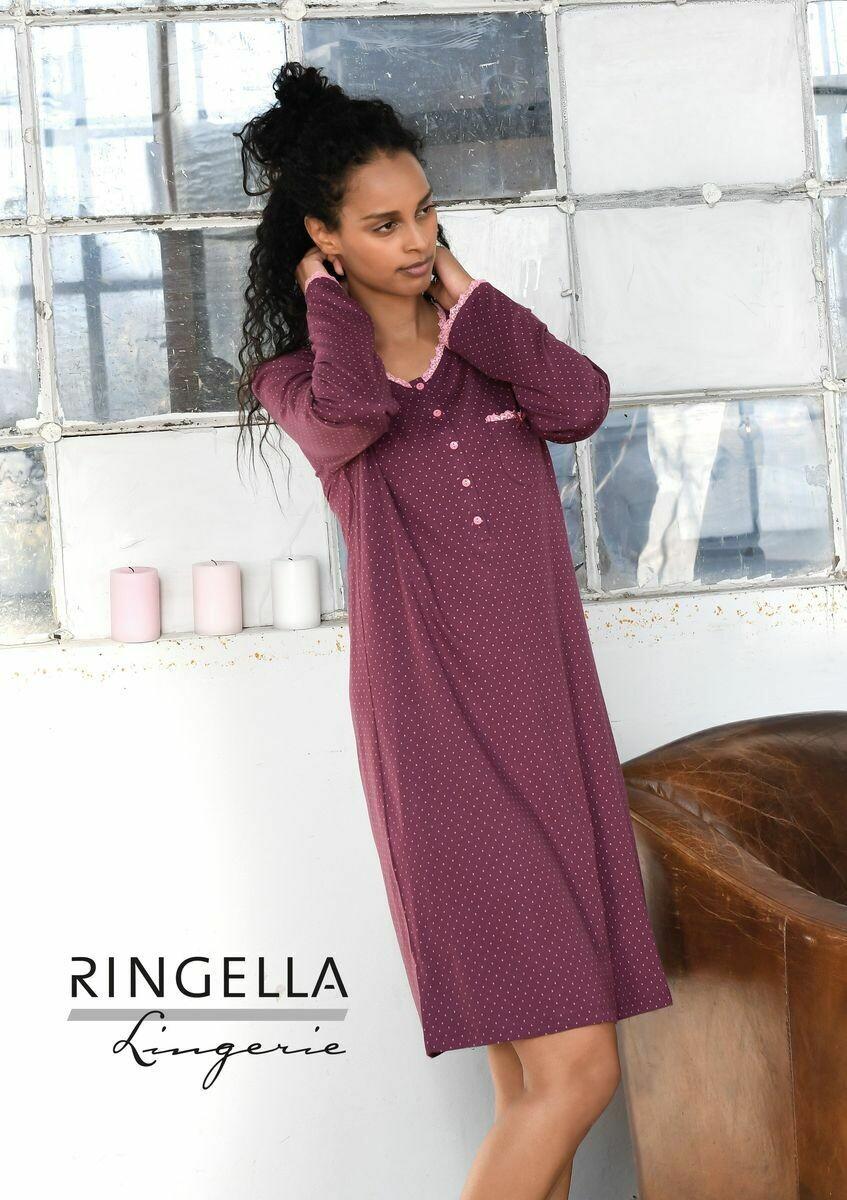 Ringella nachthemd: Purple Wine 50% Modal