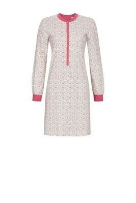 Ringella Dames Nachthemd: Roze gestreept ( tot maat 50 )