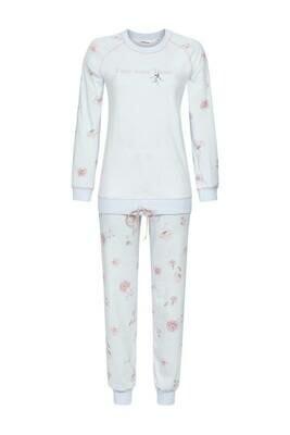Ringella Dames pyjama: Licht blauw