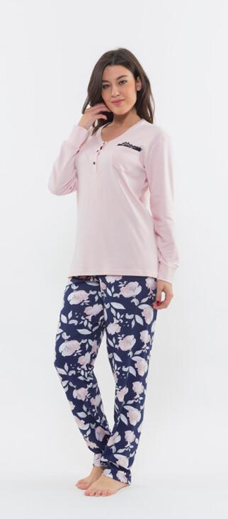 Gary Dames pyjama: 100% Katoen ( interlock )