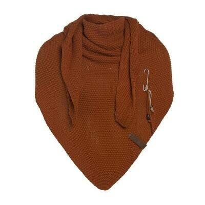 Knitfactory: Sjaal roestkleurig