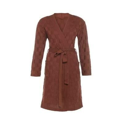 Knitfactory Badjas Unisex: gebreid, aangenaam dragen