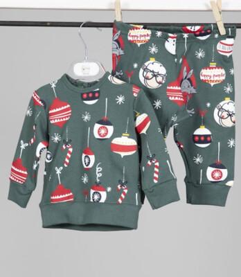 Happy People Kinder pyjama: Christmas
