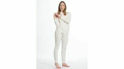 Eskimo Pyjama: Little Nomad Velours (tot 2XL) - Ecru