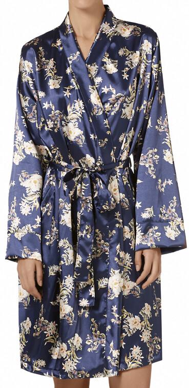Janira Kimono / Kamerjas: Satijn ( Blue notte )
