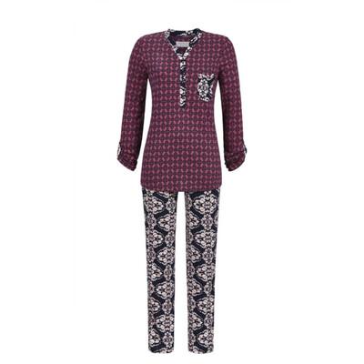 Ringella Pyjama Bordeaux / donker roze