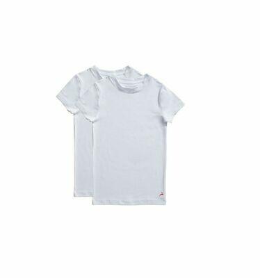 Ten Cate Onderhemd Jongens: korte mouw ( Per 2 verpakt )
