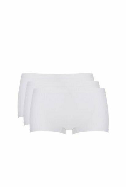 Ten Cate Dames Short: Basic per 3 verpakt ( wit of zwart )
