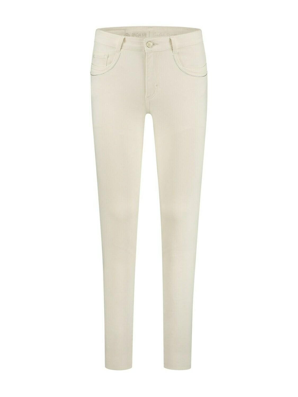 Para Mi Damesbroek: Celine Fancy Color denim Off White ( Skinny leg )