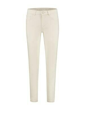 Para Mi Damesbroek: Nikita Color Denim Off White ( Extra skinny leg )