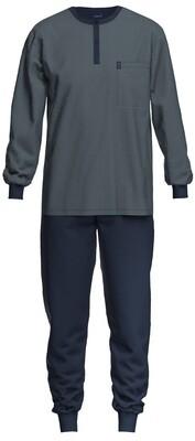 Ammann Heren Pyjama 100% Katoen: Lange mouw