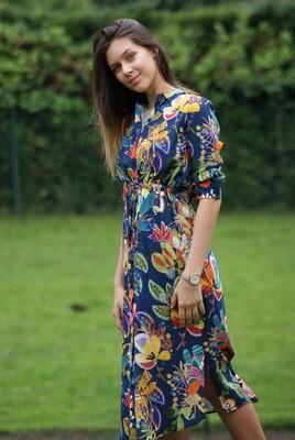 Diversa Lang kleed: Kathy ( multicolor )