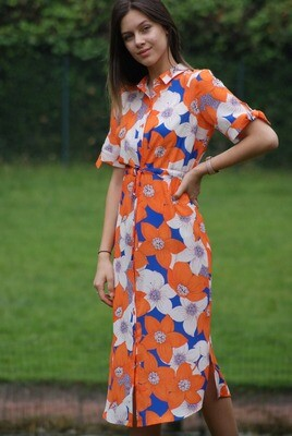 Diversa Lang kleed: Lotte ( multicolor )