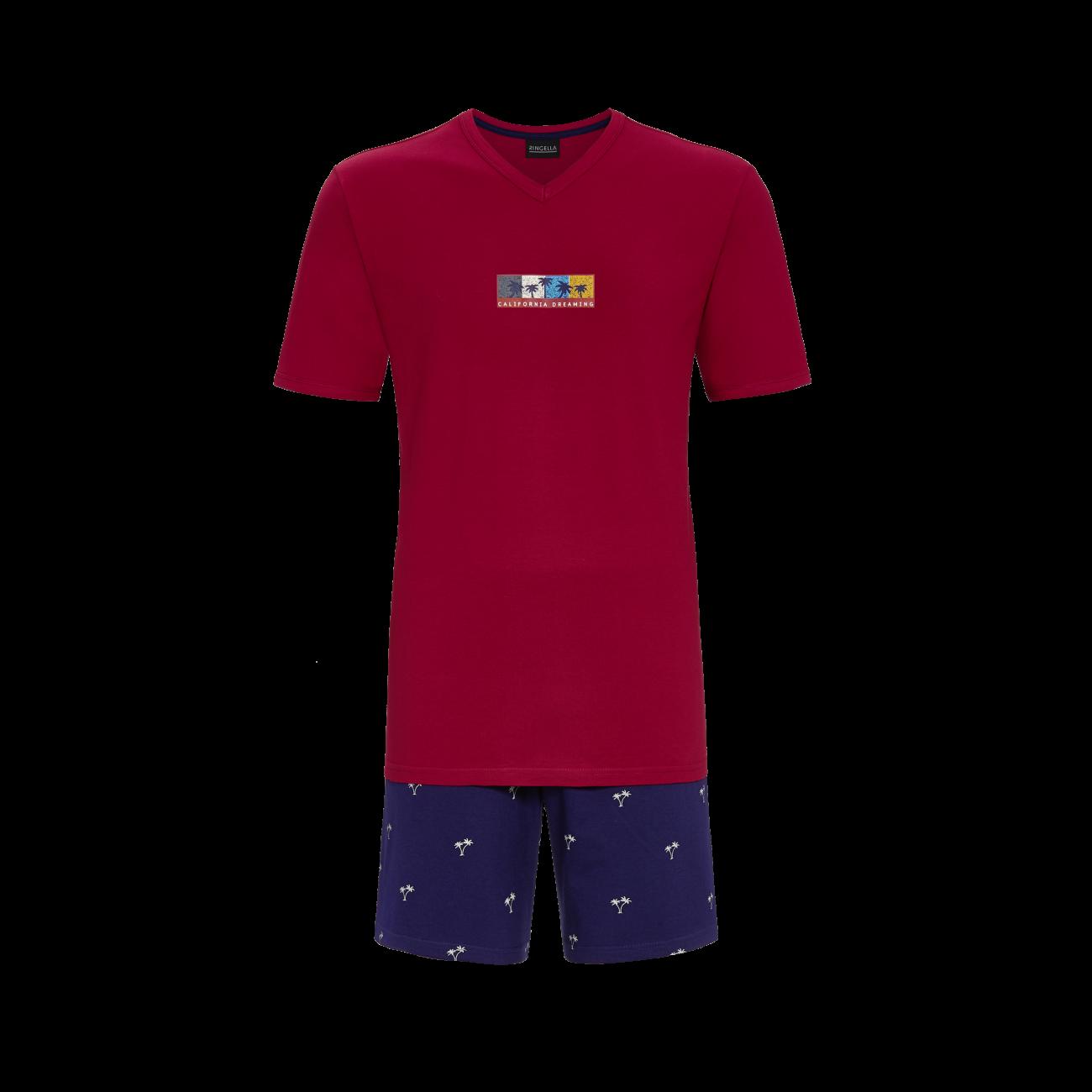 Ringella Heren Pyjama: Korte mouw / Short