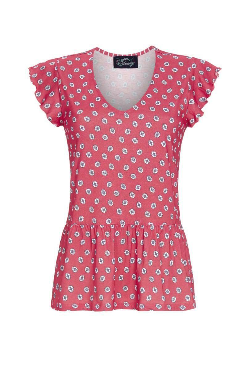 Ringella Bloomy Pyjama: T-shirt / 3/4 broek